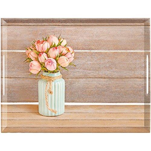 Emsa Plateau, Motif Roses Vintage, 50 x 37 cm, Classic, 517743