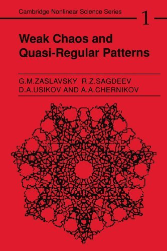 Weak Chaos and Quasi-Regular Patterns (Cambridge Nonlinear Science Series) by Georgin Zaslavski? (2010-07-05)