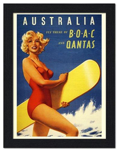 australia-air-travel-poster-framed-print-32x42cm-black