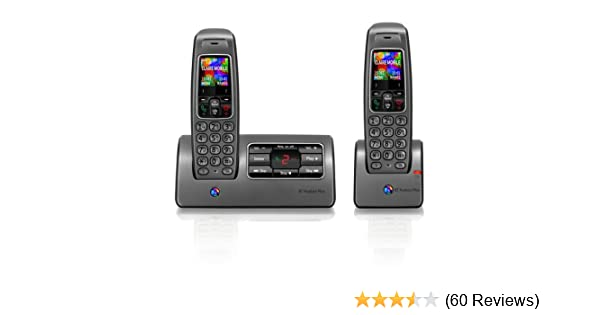 BT Hudson Plus 1500 Twin DECT Cordless Telephone With Amazoncouk Electronics