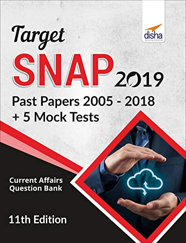 TARGET SNAP 2019 (Past Papers 2005 - 2018) + 5 Mock Tests 11th Edition