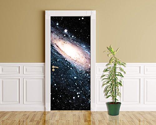 Türaufkleber - Spiral Galaxie III - 90 x 200 cm - Aufkleber - Türbild - Türfolie - Nebel - Spiralmuster - Stern - Universum - Dunkler Materie - Milchstraße - Weltraum - Astrophysik - Wissenschaft