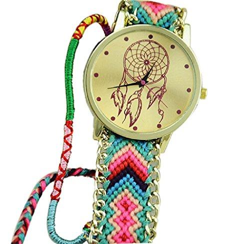 montres-pour-les-femmeshipzop-bracelet-amitie-dreamcatcher-montres-femmes-braid-montres-habillees-wa