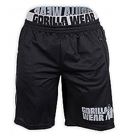 Gorilla Wear California Mesh Shorts Black/Grey