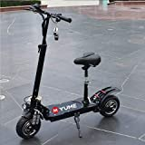 Yume Potente 52V 2000W Adulto Scooter Plegable Grande Rueda Ancha Scooter eléctrico Motocicleta Patinete Electrico