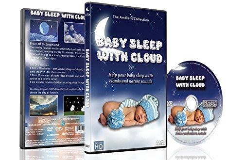 Preisvergleich Produktbild Schlaf DVD – Baby Schlaf mit Wolken, Baby Wiegenlied für Süße Träume vor dem Schlafen Gehen