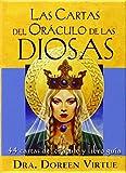 Las cartas del Oráculo de las diosas: 44 cartas del oráculo y libro guía