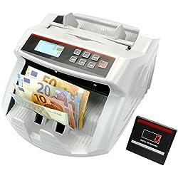 Contador de billetes con detecciones