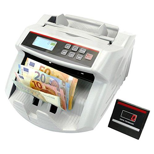 Contador de billetes con detecciones UV MG1 MG2