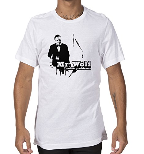 Giallo Bus - T-shirt - Pulp Fiction - Mr Wolf -