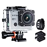 [2.4GHz, 12 MP, 1080P, 30 fps] Action Kamera, VicTsing Upgraded Sport Action Kamera mit 2,4 GHz...