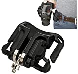 BW Camera Belt Clip System Holster For DSLR SLR Cameras Canon Nikon Sony