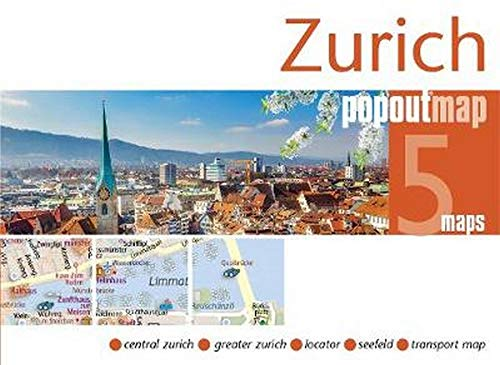 Popout Map Zurich Double (PopOut Maps)