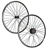 Taylor-Wheels 28 Zoll LAUFRADSATZ Shimano Deore XT/Alfine 8-Gang - schwarz