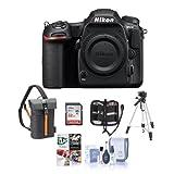 Nikon D500DX DSLR Body–Paket mit 32GB SDHC-Karte, Holster, Tasche, Stativ, Memory Wallet, Reinigungsset, Software-Paket