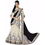 Seller King Women's Net Lengha Choli (bl...