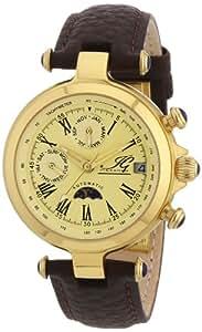 Ingraham Damen-Armbanduhr XS Manaus II Analog Automatik Leder IG MANA.2.200208