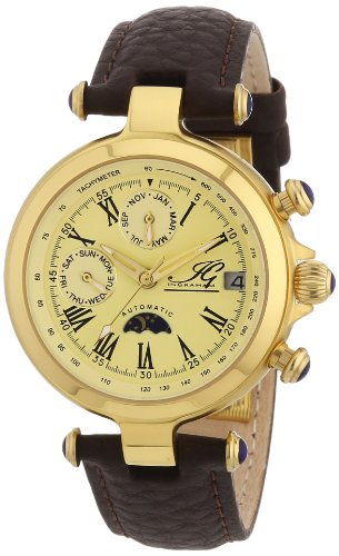 Ingraham Women's Automatic Watch Manaus II IG MANA.2.200208 with Leather Strap