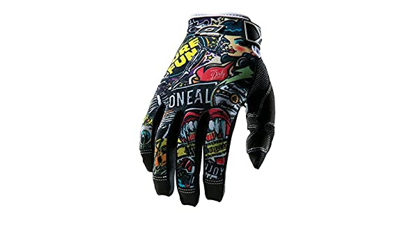 Gr/ö/ße Large ONeal Jump CRANK schwarz//multi Handschuhe Downhill Fahrrad Glove 0385JC-1