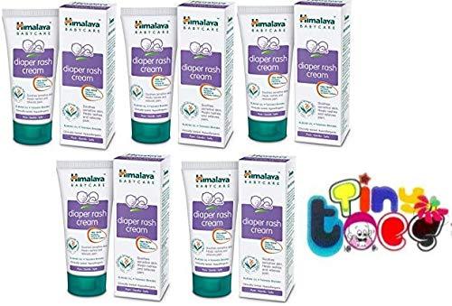Himalaya Tiny Toes Diaper Rash Cream, 50 g - Pack of 5