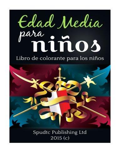 Edad Media para niños: Libro para colorear para niños