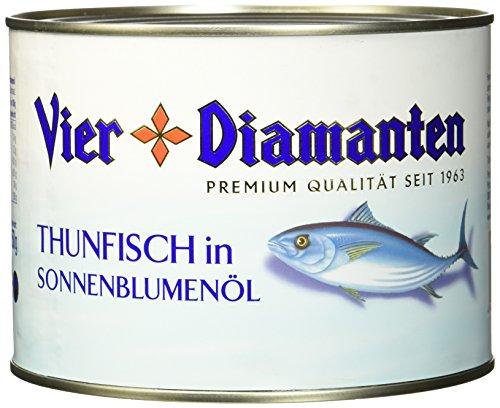 Vier Diamanten Thunfischfilets In Sonnenblumenöl - Fqsp, 1er Pack (1 x 1.88 kg)