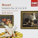 Mozart: Symphonies Nos. 36 'Linz' & 40 by Unknown (2005-01-11)