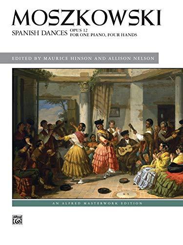 Spanish Dances, Op. 12 (Alfred Masterwork Edition) (Alfred Klavier Fingersatz)