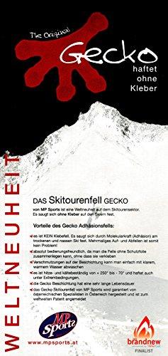 MP GECKO Tourenfelle/Haftfelle Adhaesions – klebt ohne Kleber Fell Ski Snowboard Breite 100 110 120 130 140 Steigfelle Tourenski - 2
