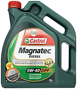 castrol magnatec diesel huile moteur 5w 40 dpf 5l etiquette allemande. Black Bedroom Furniture Sets. Home Design Ideas