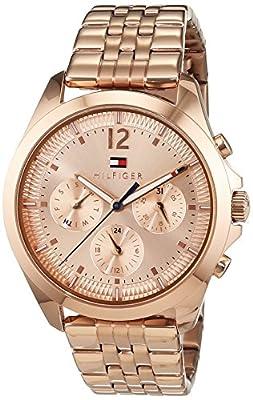 Tommy Hilfiger de Mujer Reloj De Pulsera Sophisticated Sport analógico cuarzo, revestimiento de acero inoxidable 1781700