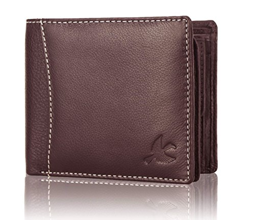 Hornbull Brown Themes Leather Men's Wallet
