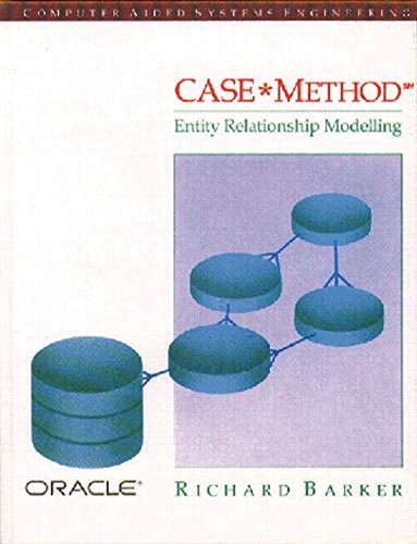 Case Method: Entity Relationship Modelling (Computer Aided Systems Engineering) por Richard Barker