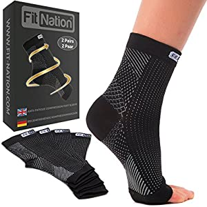 Plantar Fasciitis Socks - Black L/XL
