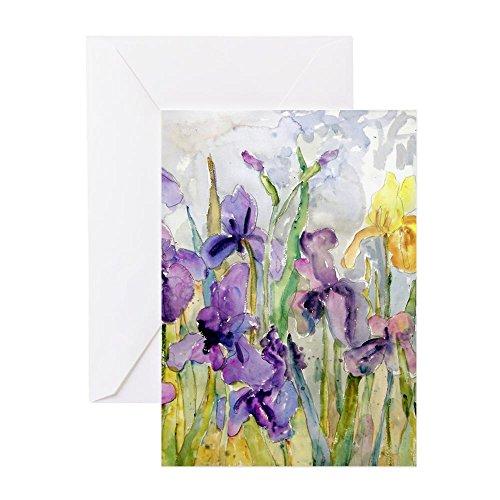 CafePress–besitzt Romantische Rüschen Grußkarten–Grußkarte ER (10), Note Karte mit Innen blanko,, Geburtstagskarte matt