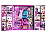 #2: Emob Doll with Fashionable Accessories Dress up Wardrobe Set for Your Little Princess Toy Accessory