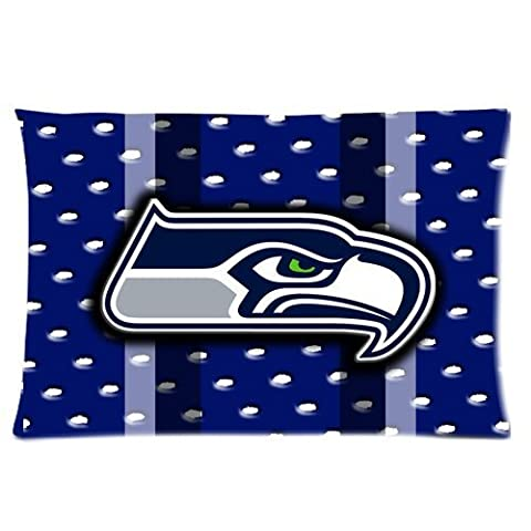 Home Decorative Special Design Custom NFL Seattle Seahawks Rectangle Pillow