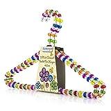 Hangerworld - 6 Grucce con perline colorate 40 cm