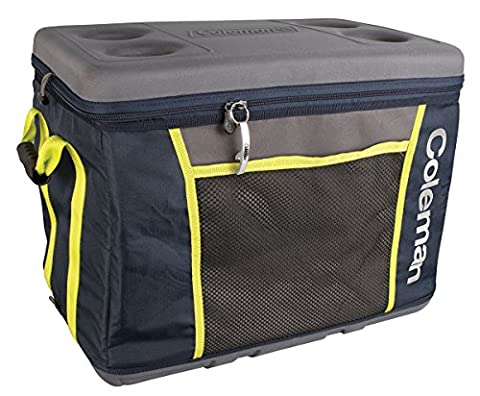 Coleman Sport 45 Can Collapsible Soft Cooler Soft Cooler - Yellow and Blue