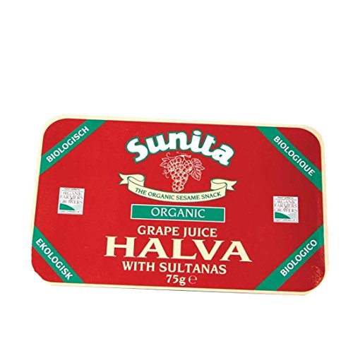 Sunita | Grape Juice & Sultana Halva Og | 12 x 75G