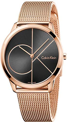Calvin Klein Men's Analogue Quartz Watch with Stainless Steel Strap K3M21621