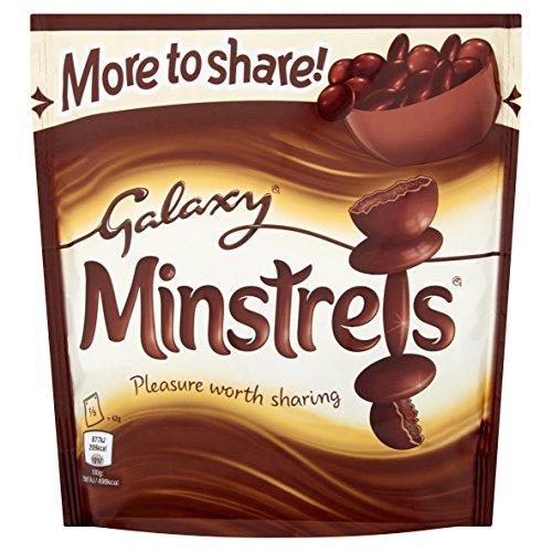Galaxy Minstrels Chocolate Sharing Pouch, 210 g