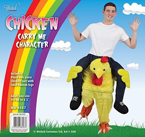Imagen de wicked carry me baby  disfraz para adultos diseño de pollo, talla única  alternativa