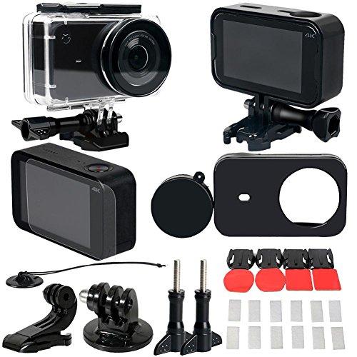 prettygood7 30 Stück Wasserdichte Gehäuse Rahmen Lens Cap Film Adapter für Xiaomi Mijia Kamera -