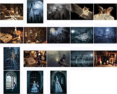 Postkarten-Komplett-Set'Mystic and Gothic'