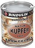 Bindulin Kupferlack wetterfest natur Metallfarbe (750 ml)