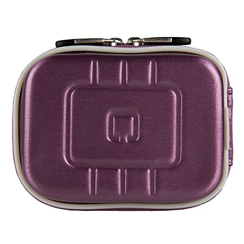 VG EVA Compact Travel Camera Case w/ Carbineer for Samsung NX mini / WB35F / WB50F Digital Cameras (Purple)  available at amazon for Rs.1117