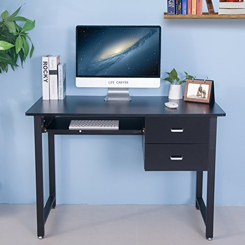 life carver white compact pc desk computer desk home office study