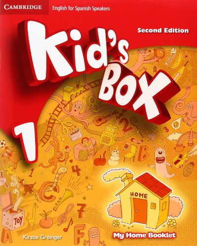 Kid's box for spanish speakers level 1 pupil's book with my home booklet second edition