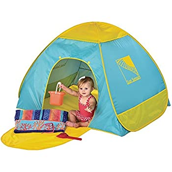 Infant Pop-Up Tent Playshade 50+ UPF  sc 1 st  Amazon UK & Infant Pop-Up Tent Playshade 50+ UPF: Amazon.co.uk: Toys u0026 Games